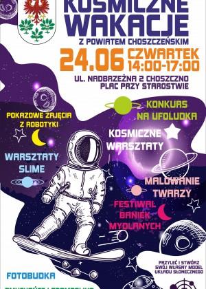 Kosmiczne Wakacje z Powiatem Choszczeńskim